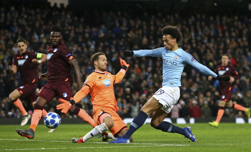 Guardiola happy with 'good' result as Man City beat Hoffenheim 2-1