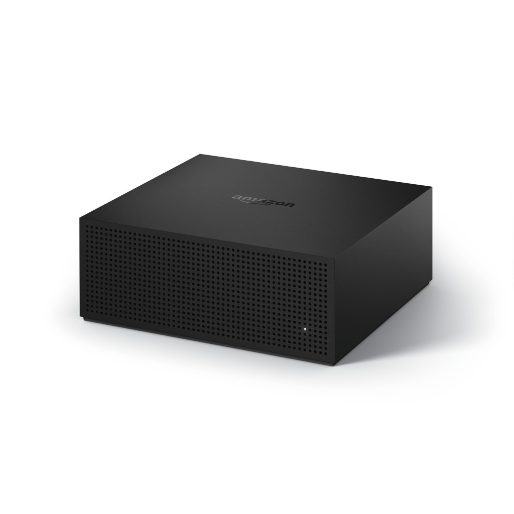 This undated photo provided by Amazon.com, Inc. shows a Fire TV Recast. The Fire TV Recast starts at $230. (Amazon.com, Inc. via AP)