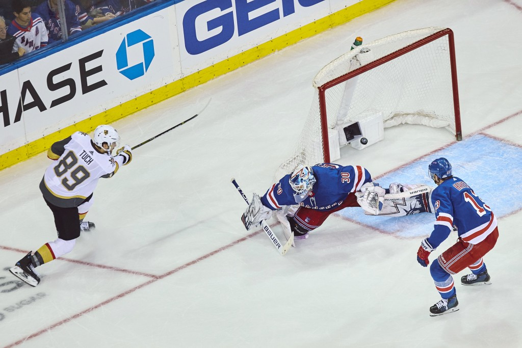 Rangers' Home Slide Grows To 3 With OT Loss To Vegas