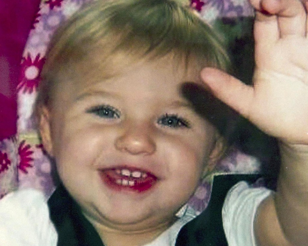 FILE - This undated file photo provided by Trista Reynolds shows Ayla Reynolds, her daughter, who went missing in December 2011 from her father's home
