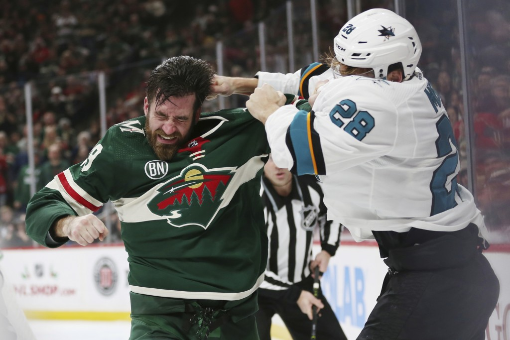 Jones Shuts Out Wild, Couture Scores Twice in Sharks' Win