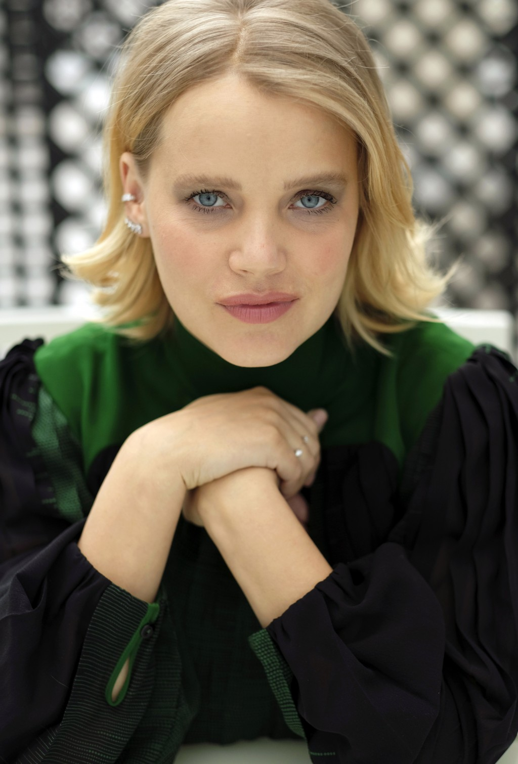 "In this Dec. 3, 2018 photo, Joanna Kulig, a cast member in the Polish film ""Cold War,"" poses for a portrait at the The London West Hollywood hotel in ..."