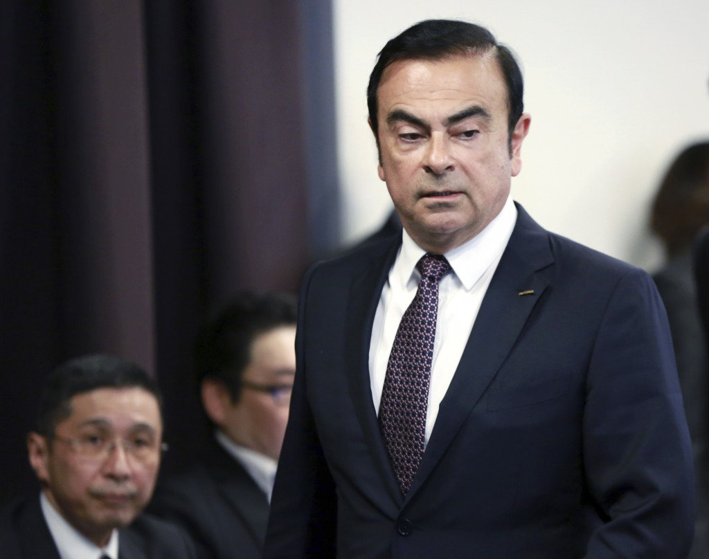 Carlos Ghosn re-arrested on fresh charges in Japan