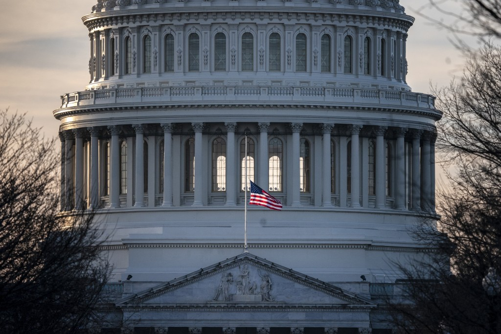 The U.S. Capitol is seen as Congress and President Donald Trump move closer to a deadline to fund parts of the government, in Washington, Wednesday, D