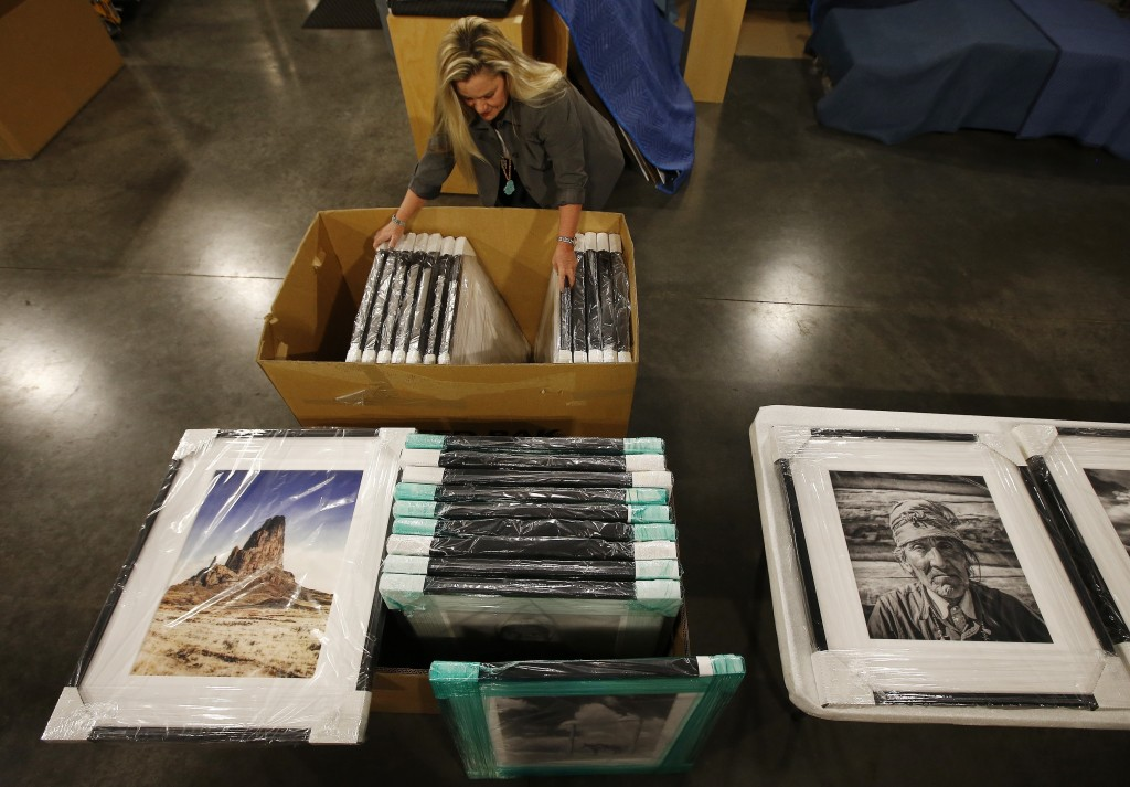 Alison Goldwater Ross, the granddaughter of former Arizona Sen. Barry Goldwater who is trying to save and digitize her grandfather's photographic arch...
