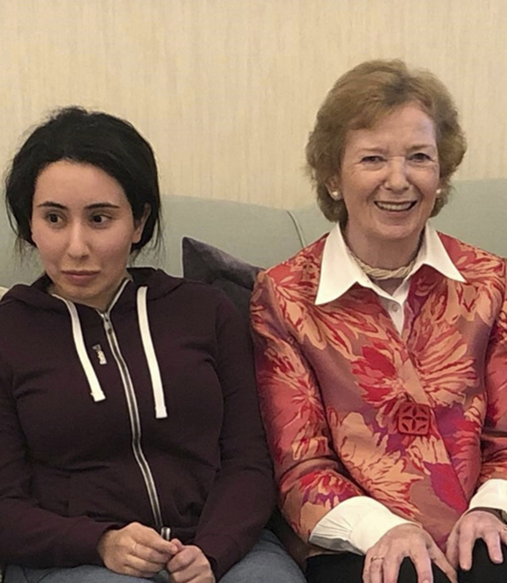 In this Saturday, Dec. 15, 2018 photo, released on Monday, Dec. 24, 2018, by the United Arab Emirates' Ministry of Foreign Affairs and International C...