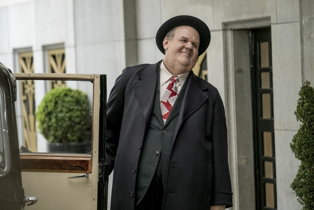 """This image released by Sony Pictures Classics show John C. Reilly as Oliver Hardy in a scene from """"Stan & Ollie."""" (Sony Pictures Classics via AP)"""