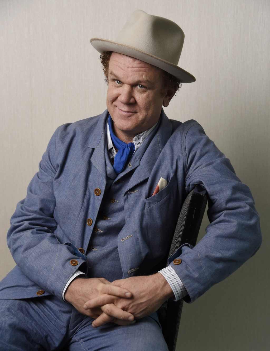 In this Sept. 8, 2018 photo John C. Reilly, poses for a portrait at the Adelaide Hotel during the Toronto International Film Festival in Toronto. Reil...