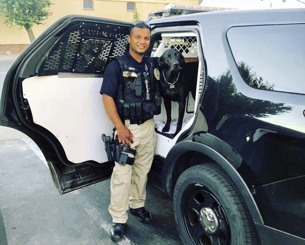 This undated photo provided by the Newman Police Department shows officer Ronil Singh of Newman Police Department who was killed by an unidentified su...