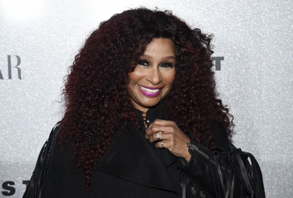 FILE- In this Nov. 29, 2018 file photo, singer Chaka Khan attends the Lincoln Center Corporate Fund fashion gala honoring Coach at Alice Tully Hall in