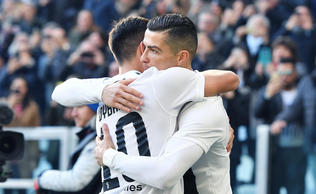 Ronaldo brace seals new record for voracious Juventus