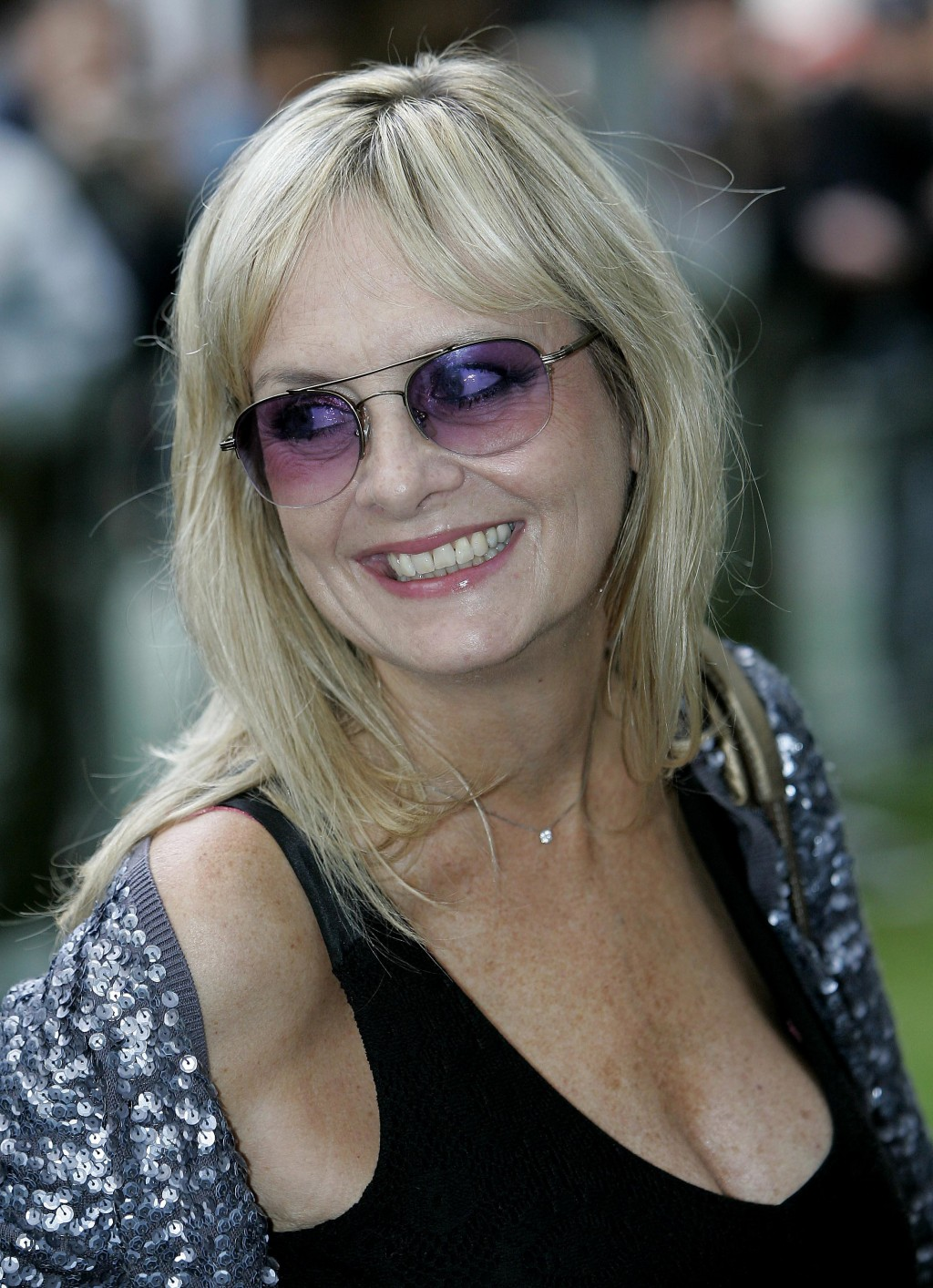 FILE - In this file photo dated Wednesday, Aug. 15, 2007, former English model, actress and singer, Twiggy Lawson, commonly known as Twiggy, in London