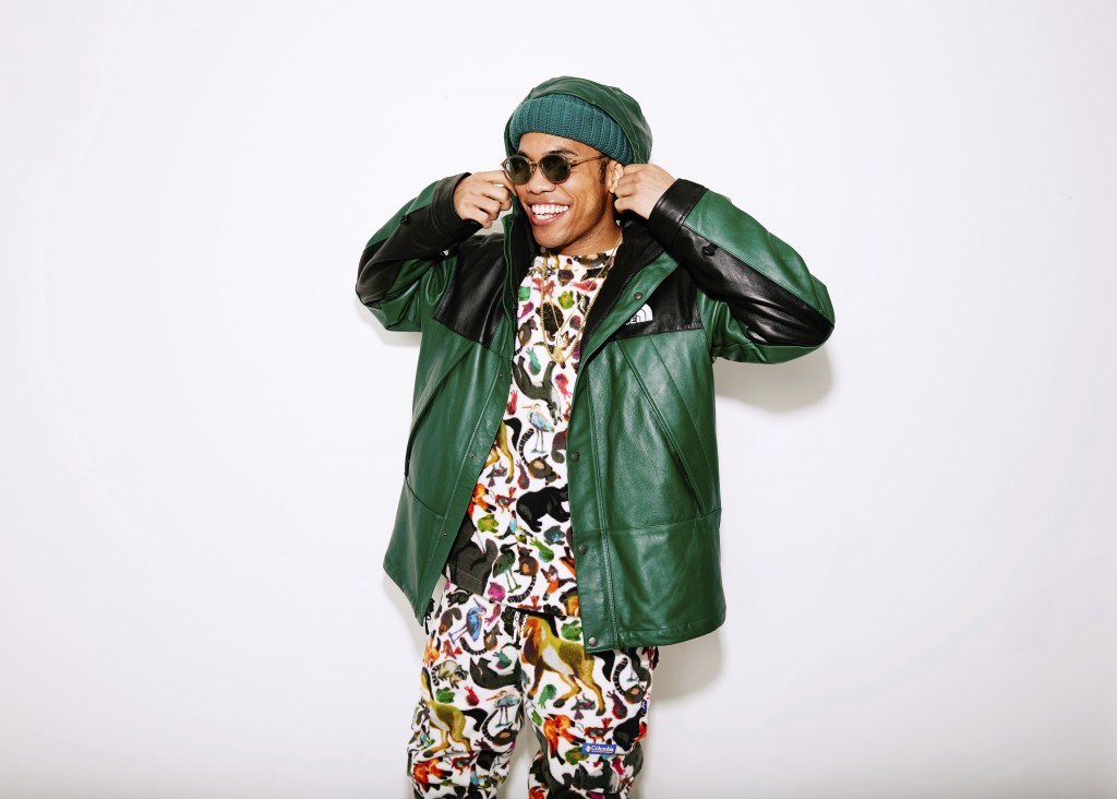 In this Dec. 3, 2018, photo Anderson .Paak poses for a portrait in New York. Getting Dr. Dre to produce his entire album had Anderson .Paak feeling li