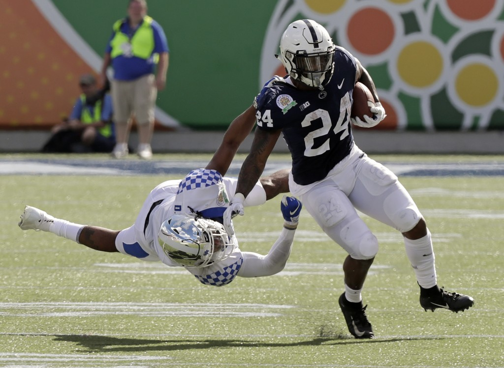 Kentucky beats Penn State to win Citrus Bowl, securing 10-win season