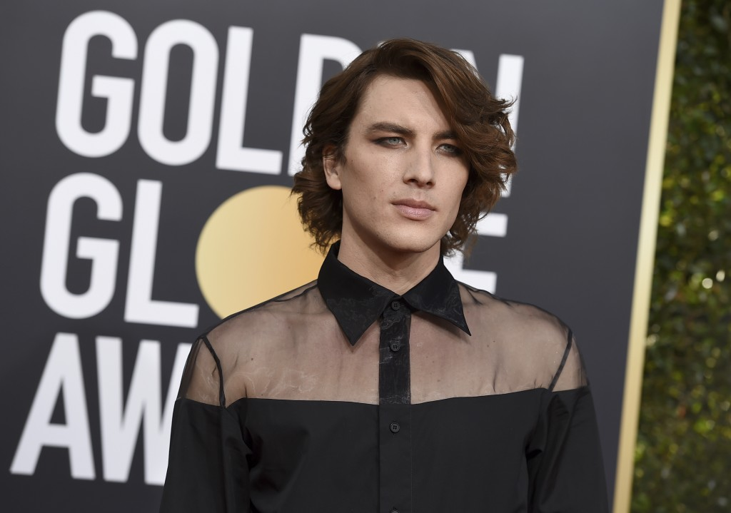 Cody Fern arrives at the 76th annual Golden Globe Awards at the Beverly Hilton Hotel on Sunday, Jan. 6, 2019, in Beverly Hills, Calif. (Photo by Jorda