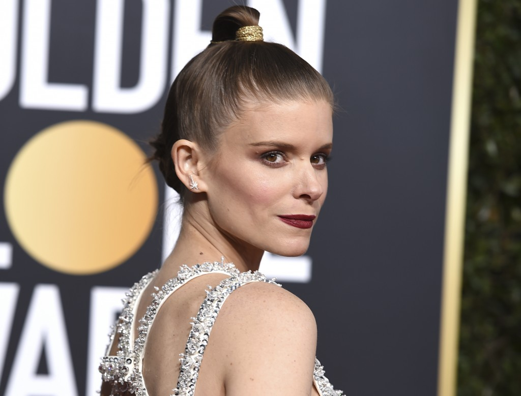 Kate Mara arrives at the 76th annual Golden Globe Awards at the Beverly Hilton Hotel on Sunday, Jan. 6, 2019, in Beverly Hills, Calif. (Photo by Jorda