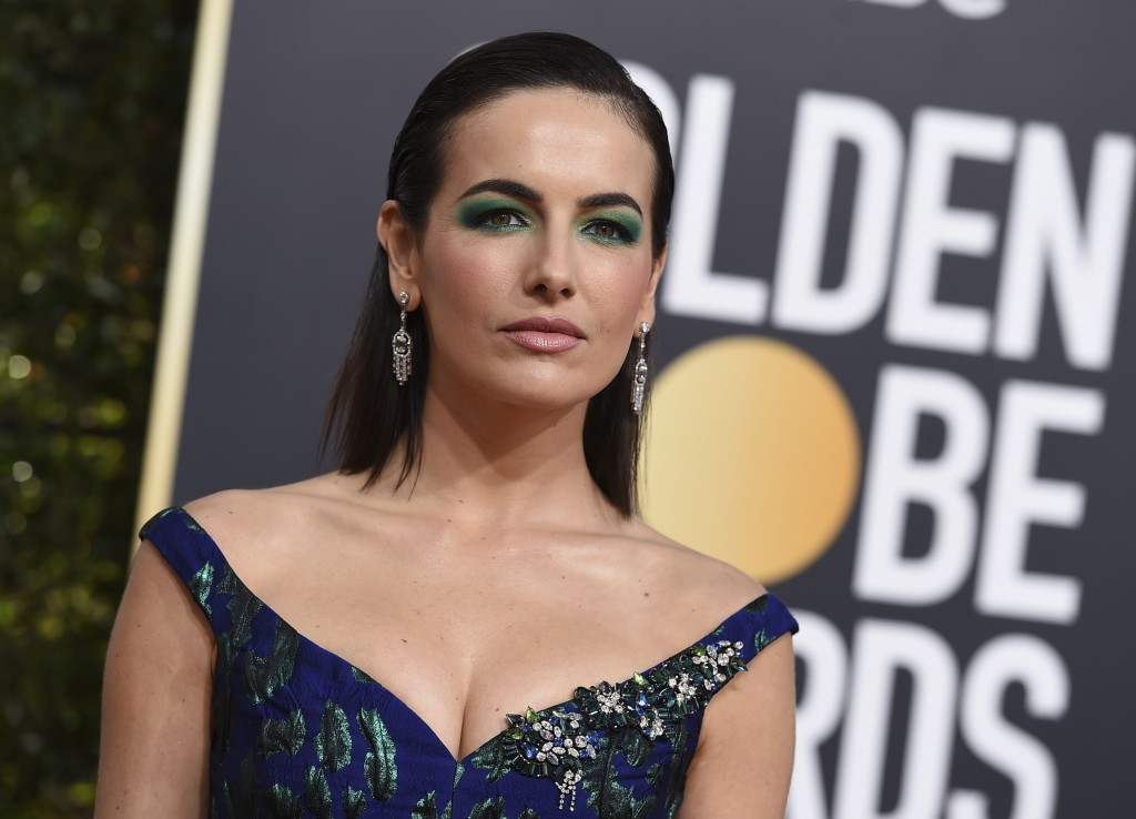 Camilla Belle arrives at the 76th annual Golden Globe Awards at the Beverly Hilton Hotel on Sunday, Jan. 6, 2019, in Beverly Hills, Calif. (Photo by J