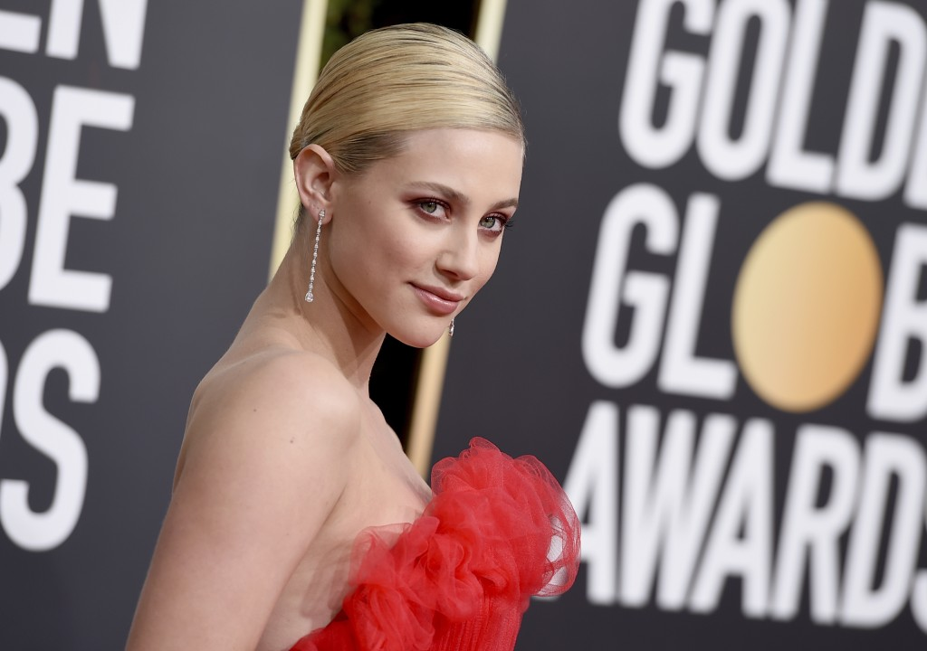 Lili Reinhart arrives at the 76th annual Golden Globe Awards at the Beverly Hilton Hotel on Sunday, Jan. 6, 2019, in Beverly Hills, Calif. (Photo by J