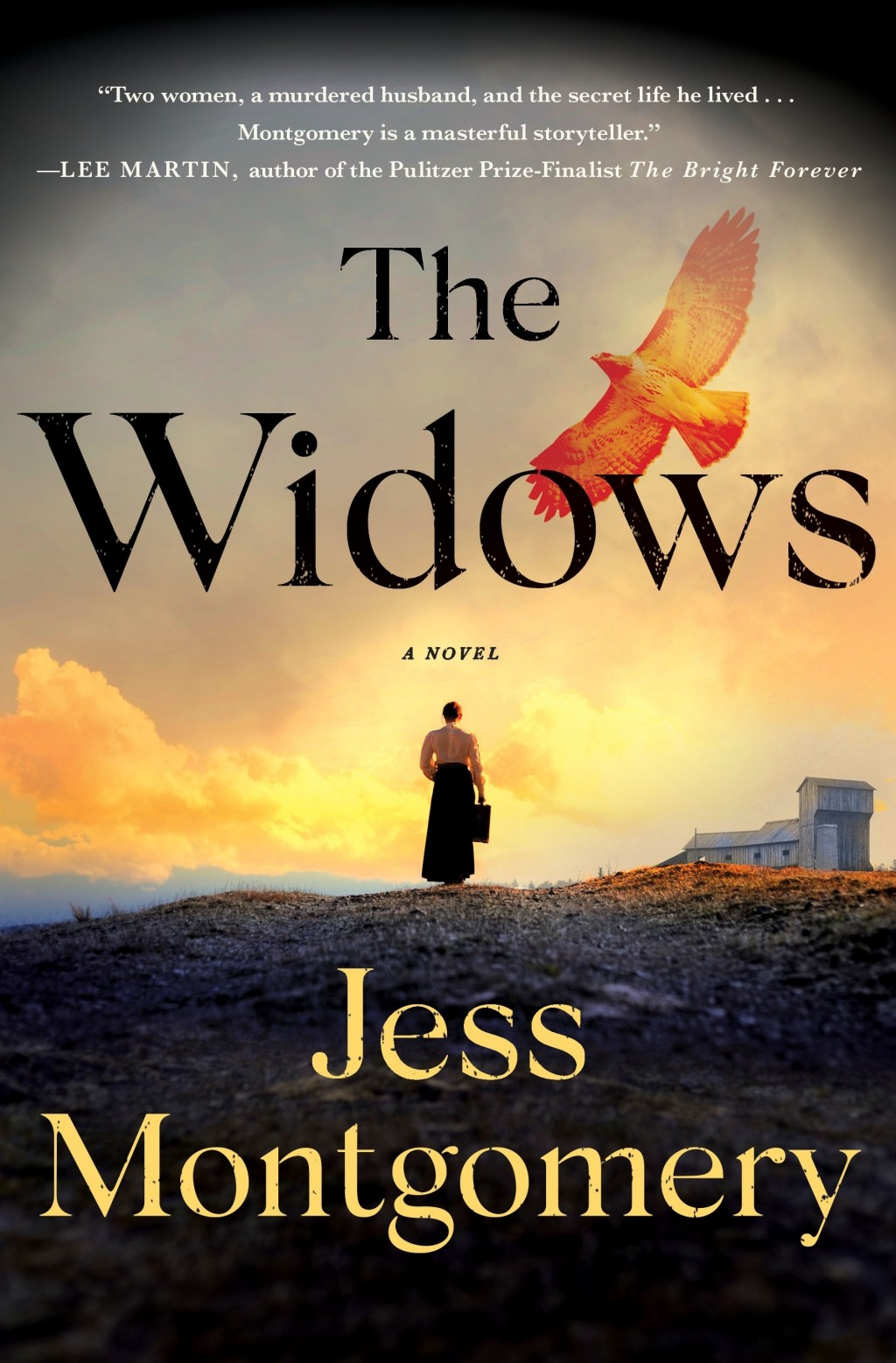 """This cover image released by Minotaur shows """"The Widows"""" by Jess Montgomery. (Minotaur via AP)"""