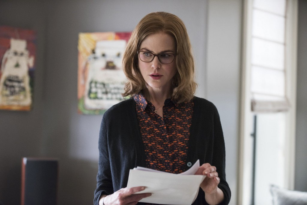 """This image released by STXfilms shows Nicole Kidman in a scene from """"The Upside."""" (David Lee/STXfilms via AP)"""