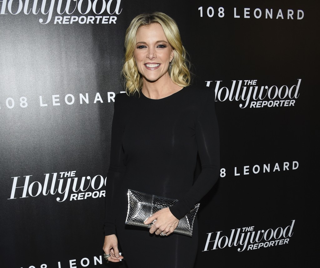 FILE - In this April 12, 2018 file photo, television journalist Megyn Kelly attends The Hollywood Reporter's annual 35 Most Powerful People in Media e