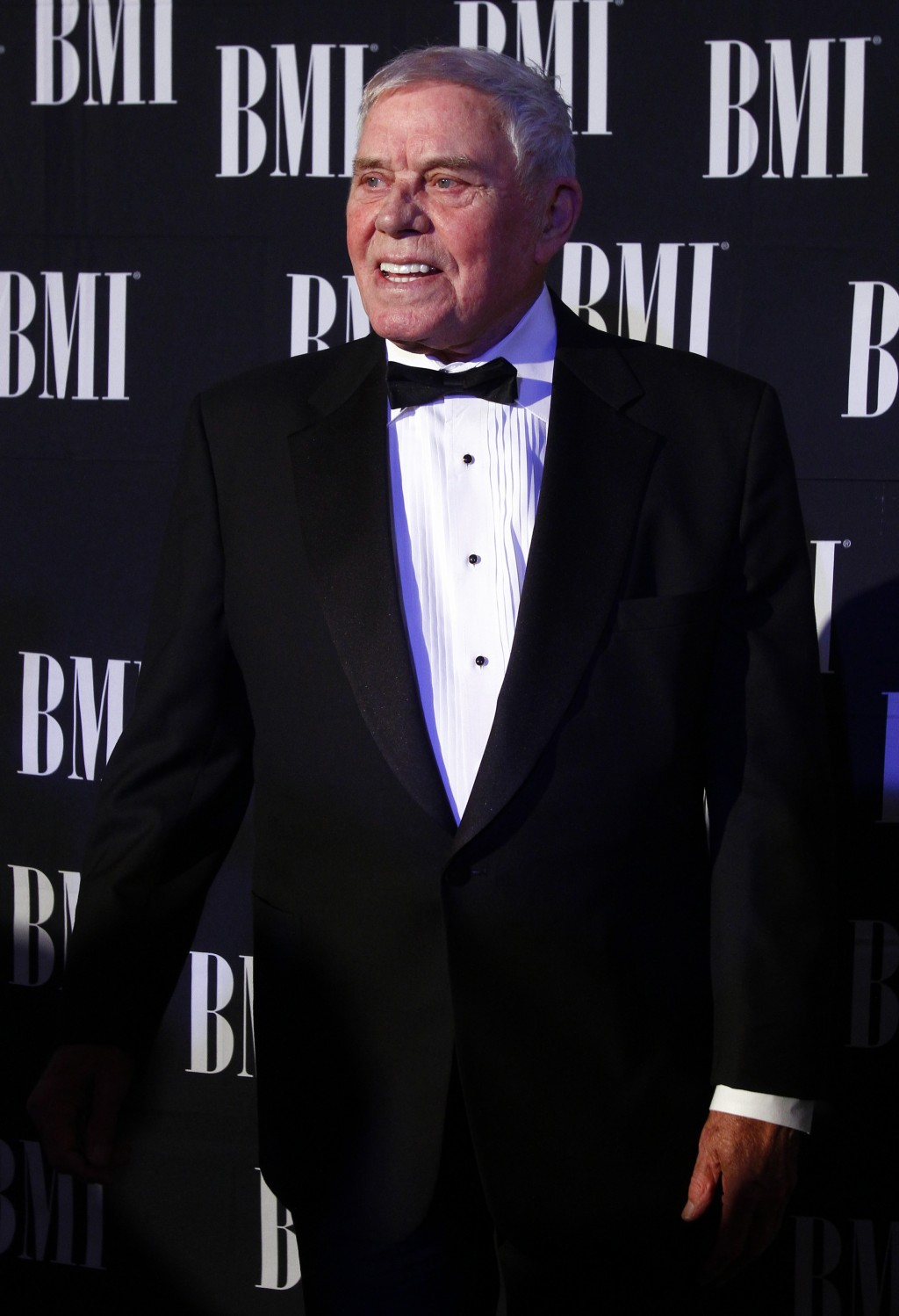 FILE - In this Oct. 30, 2012 file photo, Tom T. Hall arrives at the 60th Annual BMI Country Awards in Nashville, Tenn. Missy Elliott is making history