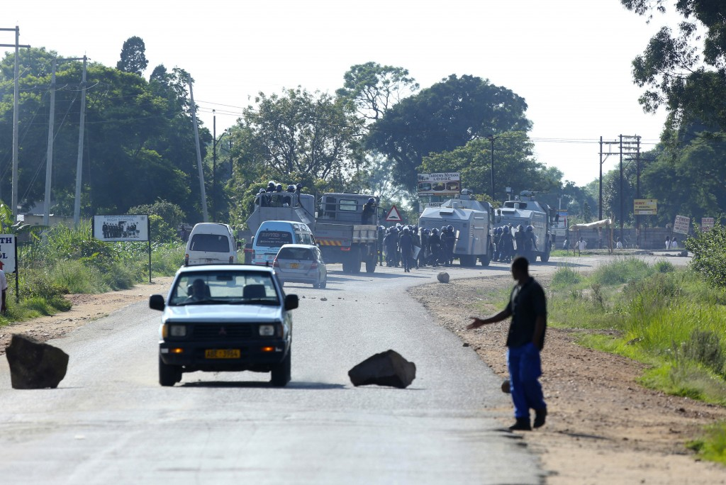 Tensions rise in Zimbabwe's capital after fue    | Taiwan News