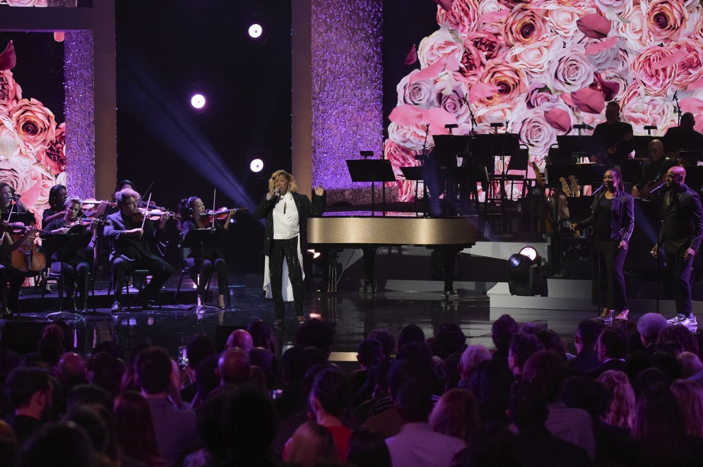 """Patti LaBelle performs at the """"Aretha! A Grammy Celebration For The Queen Of Soul"""" event at the Shrine Auditorium on Sunday, January 13, 2019, in Los"""