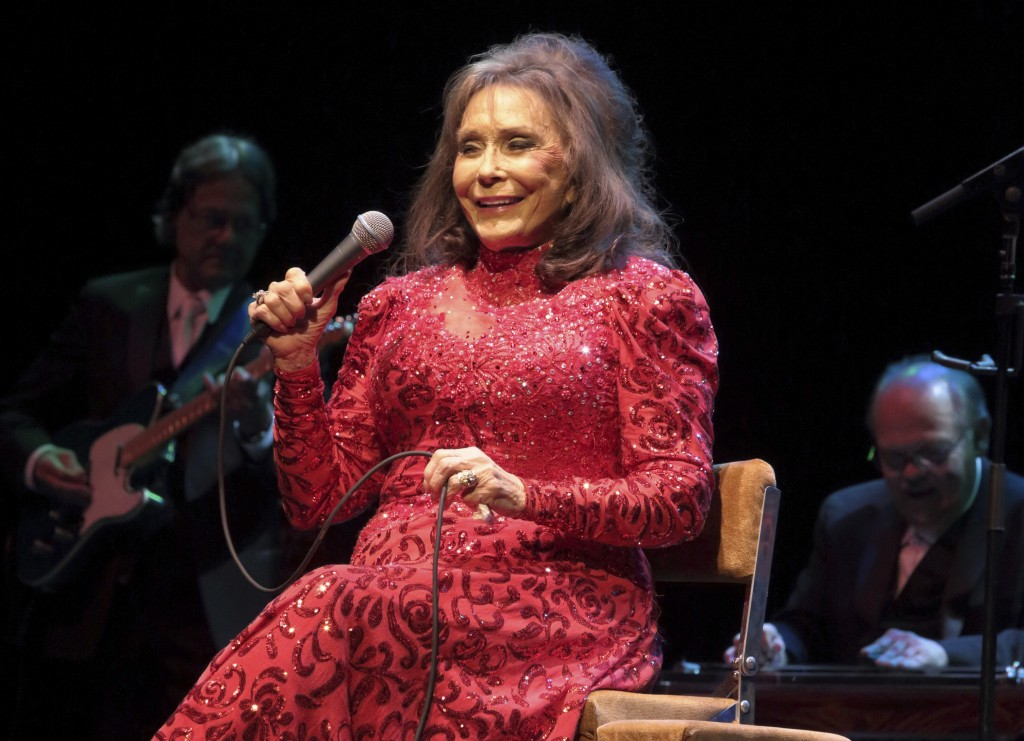 FILE - In this Aug. 28, 2016 file photo, Loretta Lynn performs in concert at the American Music Theater in Lancaster, Pa. Lynn has plans for her 87th