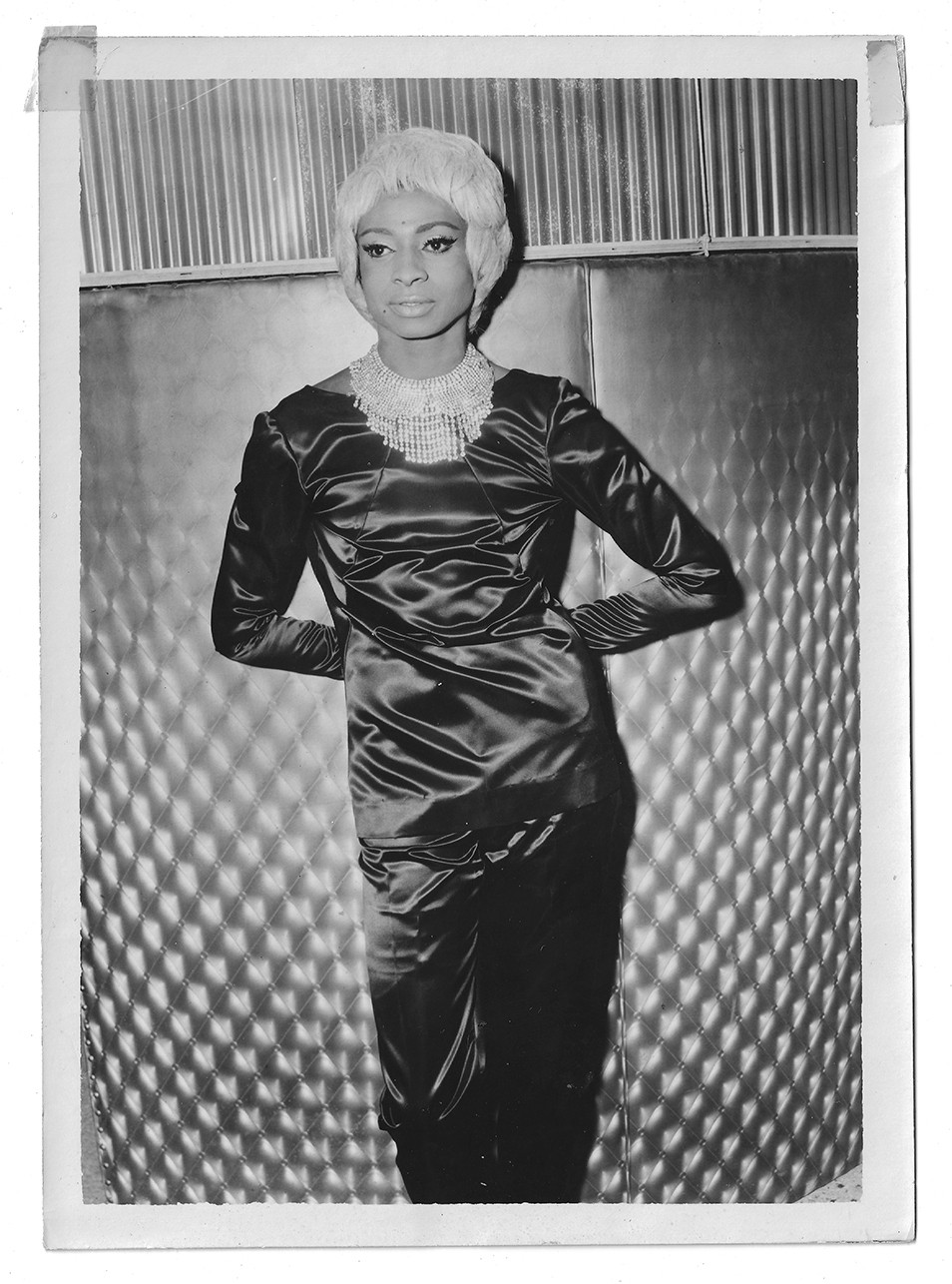 "This 1960's image shows Jackie Shane at The California Club in Los Angeles. Shane's ""Any Other Way,"" has been nominated for best historical album at t"