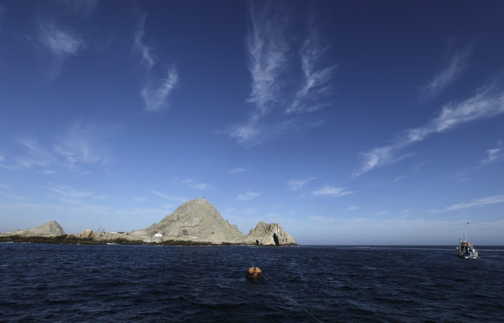 FILE - This Oct. 13, 2011, file photo shows the Southeast Farallon Island at Farallon Islands National Refuge, Calif. Environmental research projects ...