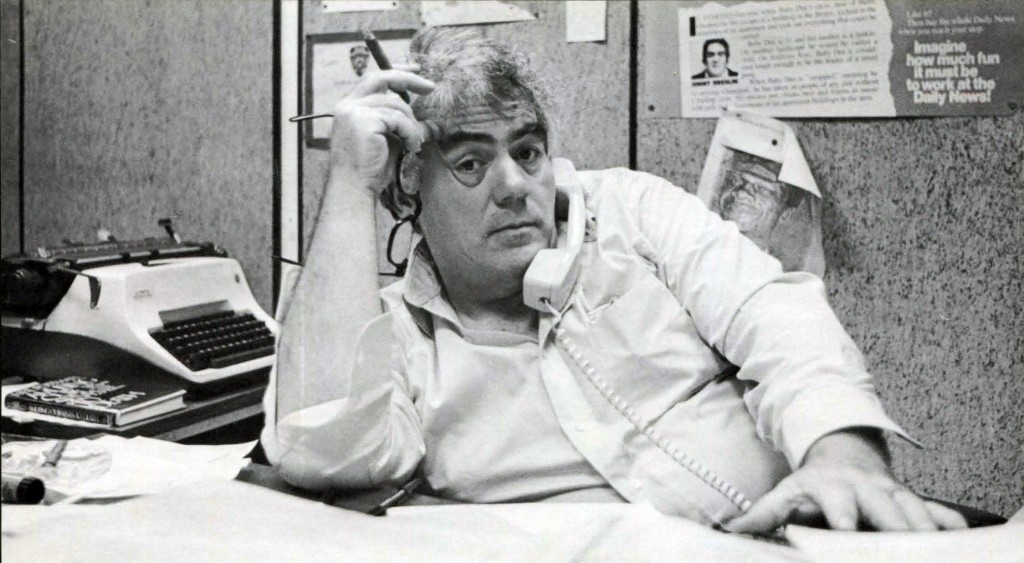 """This image released by HBO shows journalist Jimmy Breslin who is the focus of the HBO documentary """"Breslin and Hamill: Deadline Artists,"""" premiering o..."""