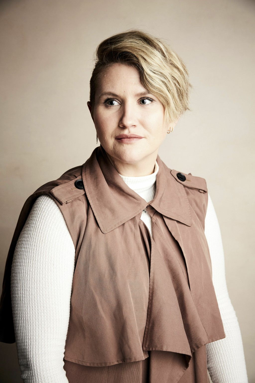"Jillian Bell poses for a portrait to promote the film ""Brittany Runs A Marathon"" at the Salesforce Music Lodge during the Sundance Film Festival on Su"