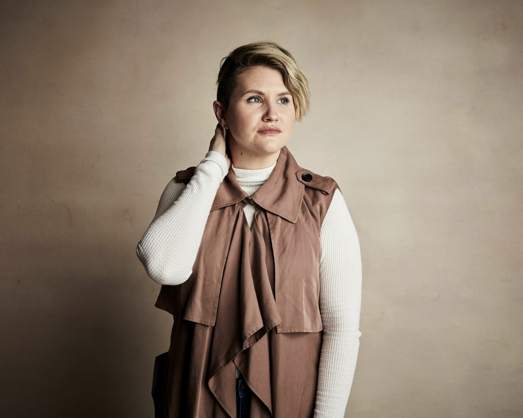 """Jillian Bell poses for a portrait to promote the film """"Brittany Runs A Marathon"""" at the Salesforce Music Lodge during the Sundance Film Festival on Su..."""