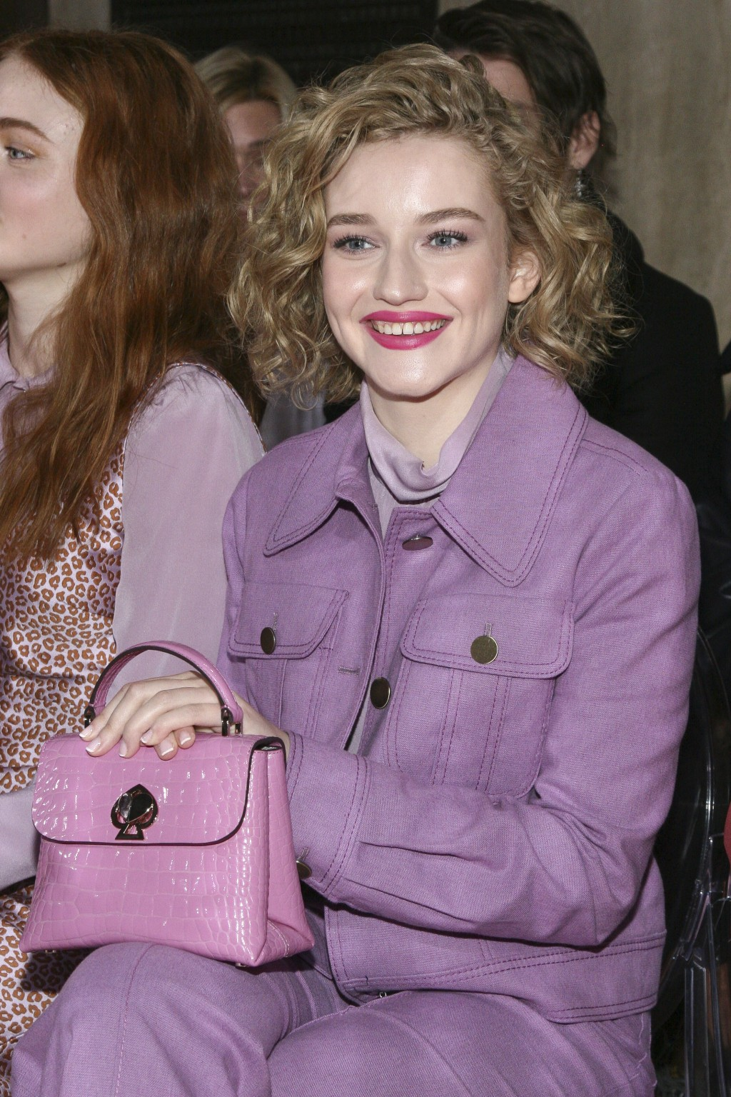 Julia Garner attends the NYFW Fall/Winter 2019 Kate Spade fashion show at the Cipriani's on Friday, Feb. 8, 2019, in New York. (Photo by Andy Kropa/In