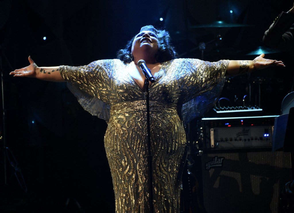 Keala Settle performs at the Pre-Grammy Gala And Salute To Industry Icons at the Beverly Hilton Hotel on Saturday, Feb. 9, 2019, in Beverly Hills, Cal