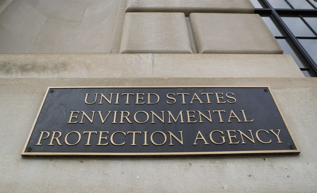 FILE - In this Sept. 21, 2017, file photo, the Environmental Protection Agency (EPA) Building is shown in Washington. There's growing evidence that lo...