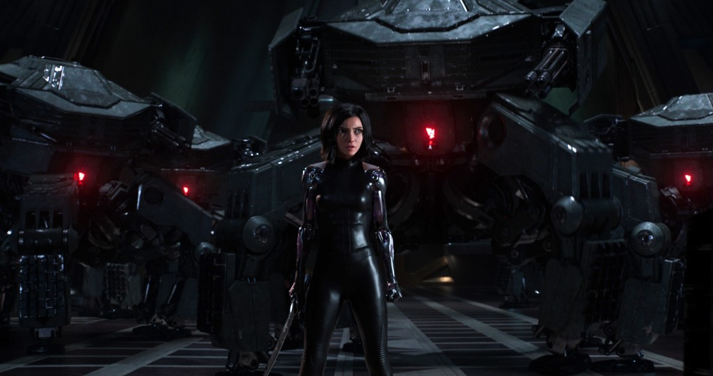 "This image released by Twentieth Century Fox shows the character Alita, voiced by Rosa Salazar, in a scene from ""Alita: Battle Angel."" (Twentieth Cent"