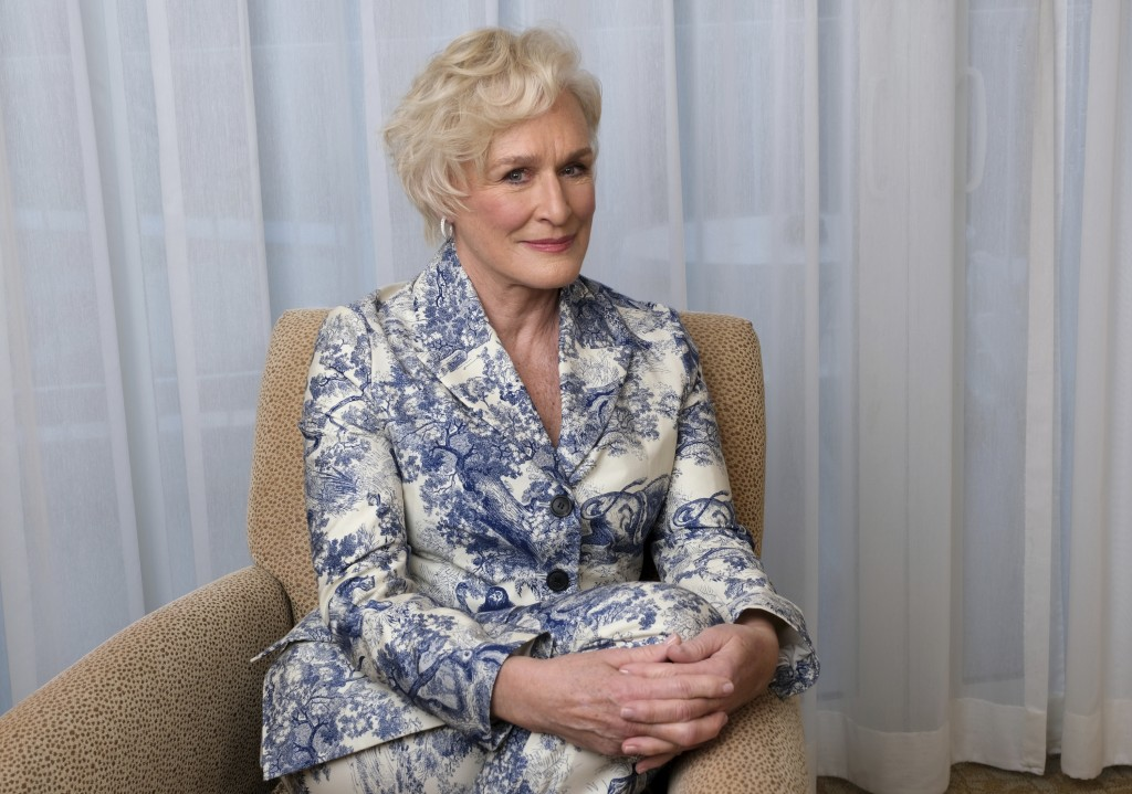 This Feb. 4, 2019 photo shows Glenn Close posing for a portrait at the 91st Academy Awards Nominees Luncheon in Beverly Hills, Calif. Close is nominat
