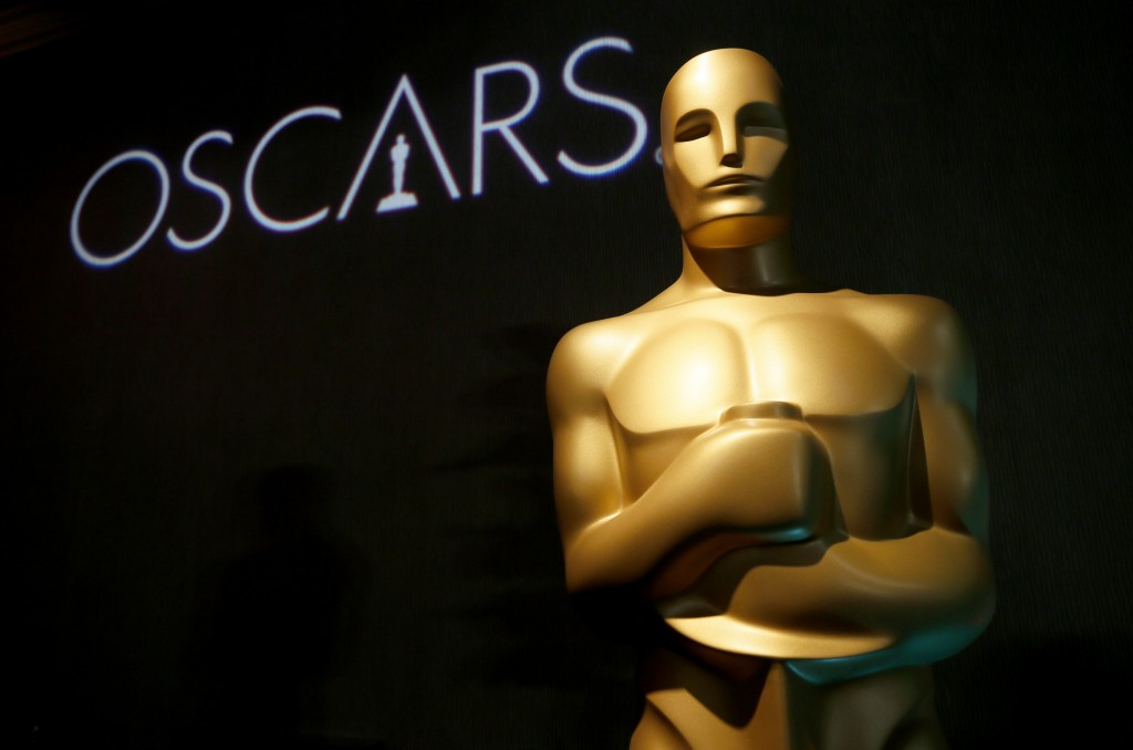 FILE - In this Feb. 4, 2019 file photo, an Oscar statue appears at the 91st Academy Awards Nominees Luncheon in Beverly Hills, Calif. A spokesperson f