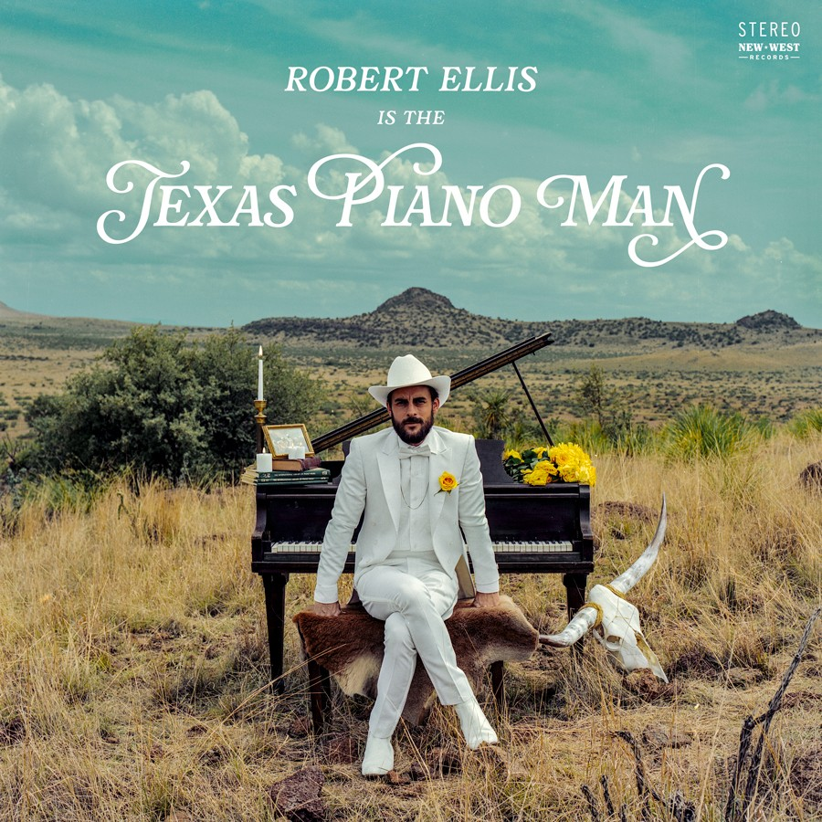 """This cover image released by New West Records shows """"Texas Piano Man,"""" a release by Robert Ellis. (New West Records via AP)"""