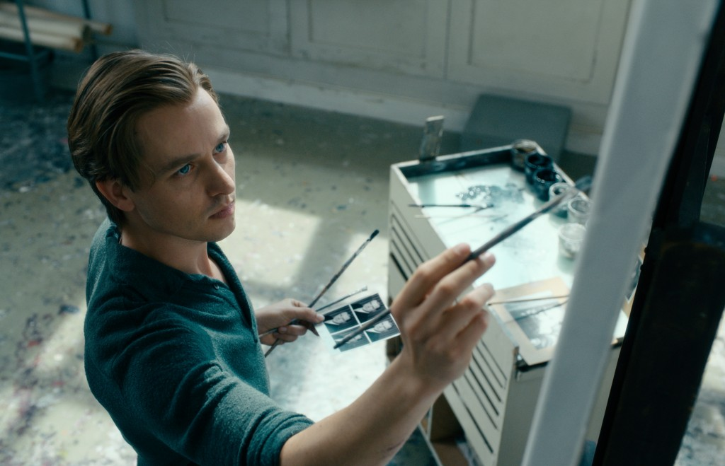 "This image released by Sony Pictures Classics shows Tom Schilling in a scene from ""Never Look Away.""  (Caleb Deschanel/Sony Pictures Classics via AP)"