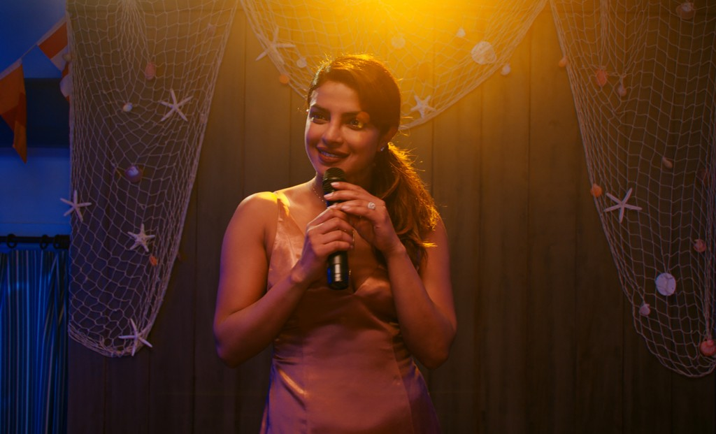 """This image released by Warner Bros. Pictures shows Priyanka Chopra in a scene from """"Isn't It Romantic."""" (Warner Bros. Pictures via AP)"""
