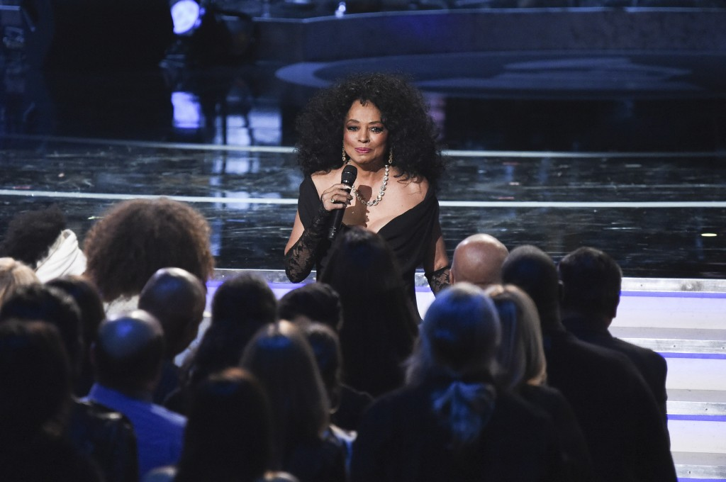 Diana Ross performs during Motown 60: A GRAMMY Celebration at the Microsoft Theater on Tuesday, Feb.12, 2019, in Los Angeles. (Photo by Richard Shotwe...