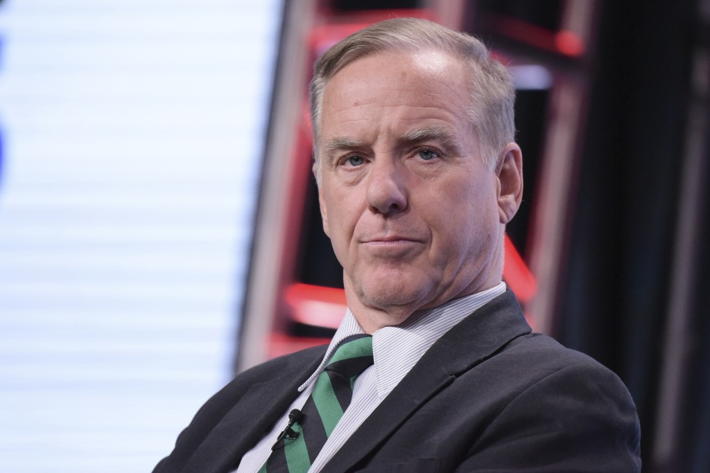"FILE - In this July 29, 2016, file photo, Howard Dean participates in ""The Contenders: 16 for 16"" panel during the PBS Television Critics Association"