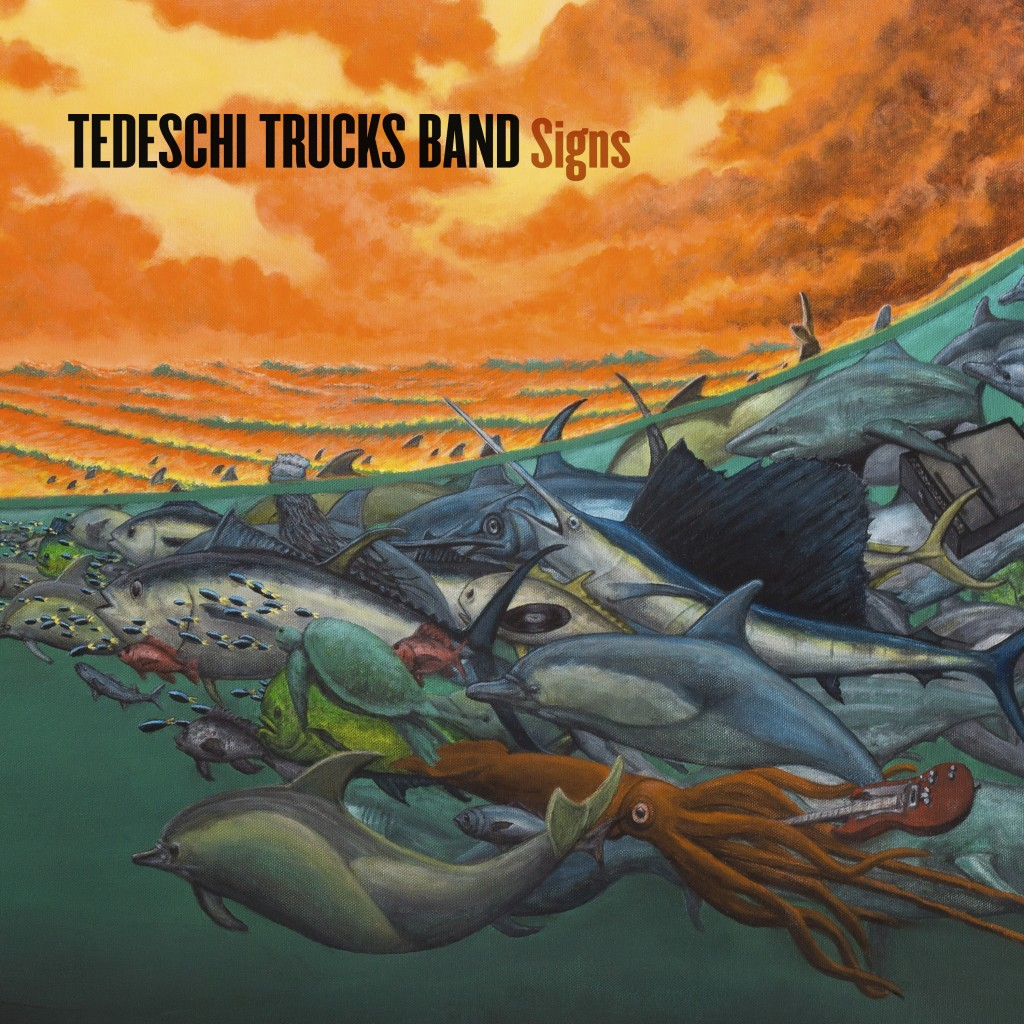 "This cover image released by Fantasy Records/Concord shows ""Signs"" the latest release by Tedeschi Trucks Band. (Fantasy Records/Concord via AP)"