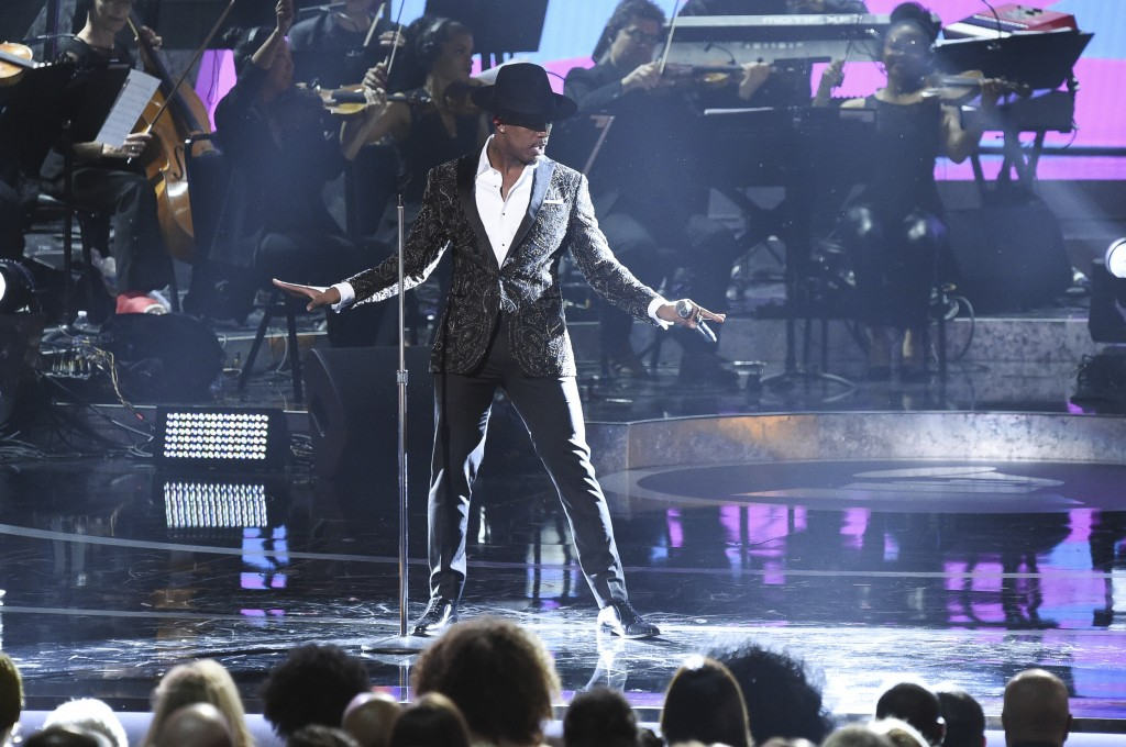 Ne-Yo performs during Motown 60: A GRAMMY Celebration at the Microsoft Theater on Tuesday, Feb. 12, 2019, in Los Angeles. (Photo by Richard Shotwell/I...
