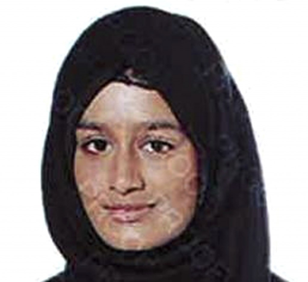 This undated photo issued by the Metropolitan Police shows Shamima Begum. A pregnant British teenager who ran away from Britain to join Islamic State ...