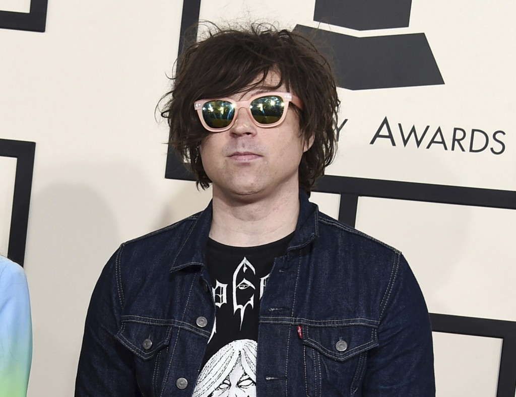 FILE - In this Feb. 8, 2015 file photo, Ryan Adams arrives at the 57th annual Grammy Awards in Los Angeles. A New York Times report says seven women h