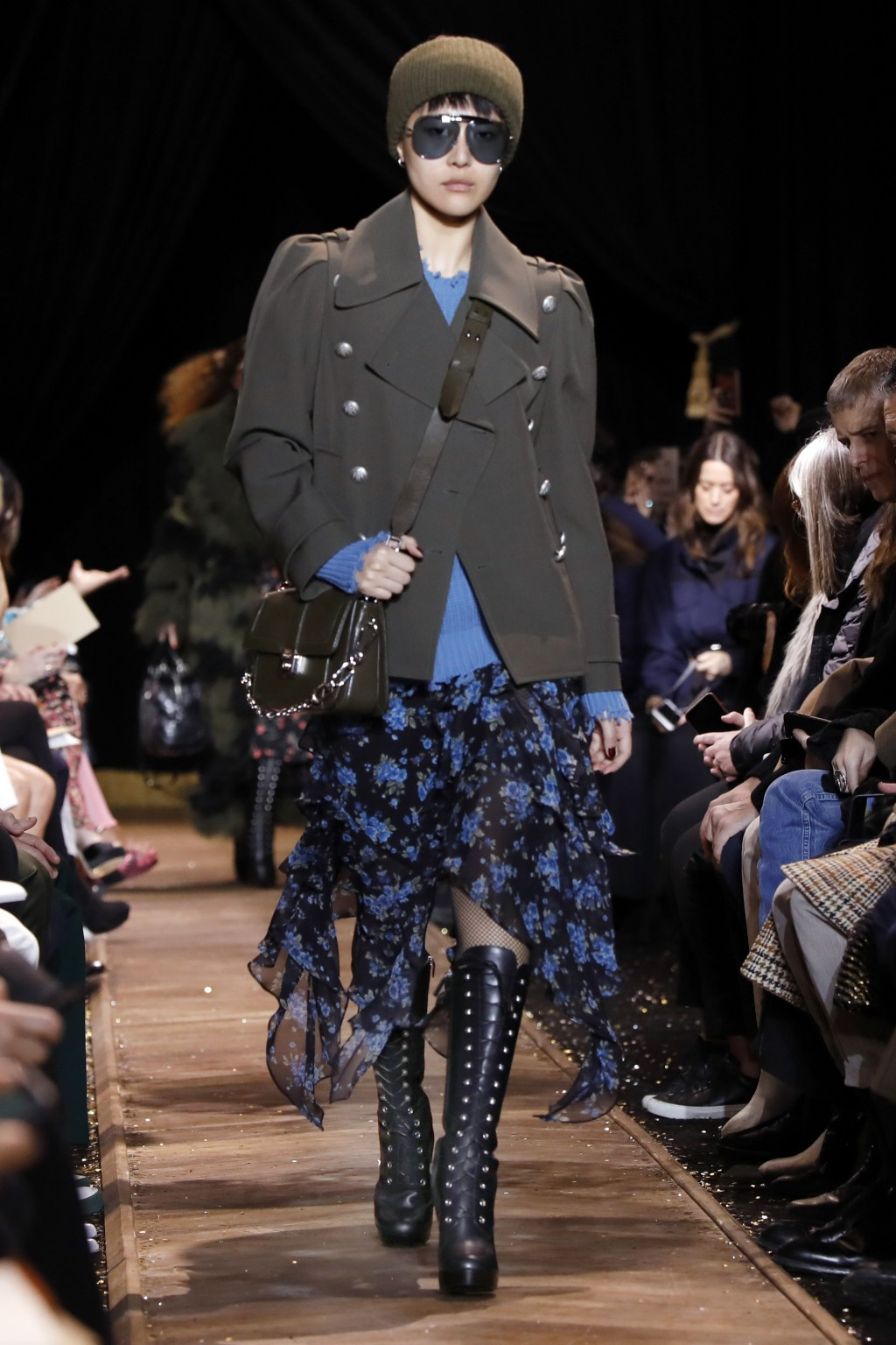 2a2a5a3ea184 The Michael Kors collection is modeled during Fashion Week in New York